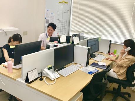 学歴・年齢不問!コールセンター 兼 事務スタッフを募集します。